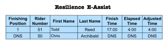 Resilience E-Assist